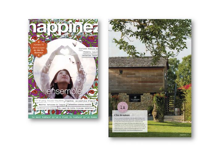 Magazine Happinez Numéro 18